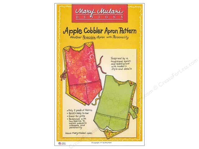 Mary Mulari Apple Cobbler Apron Pattern