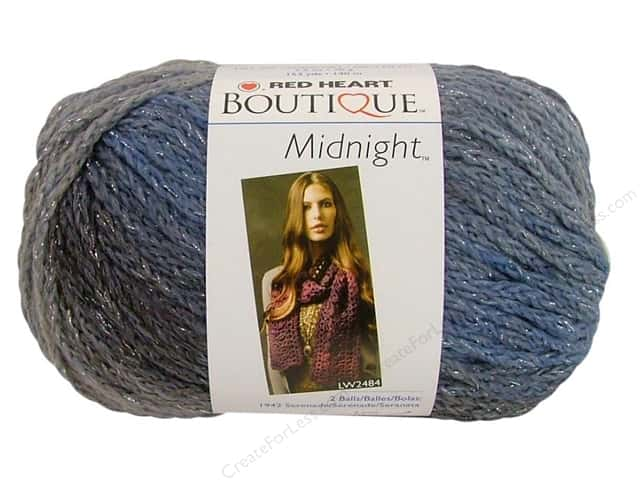 Red Heart Boutique Midnight Yarn #1936 Misty 153 yd.