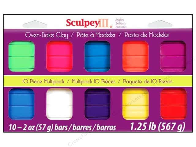 Sculpey III Clay Multipack 10 pc. Bright Ideas