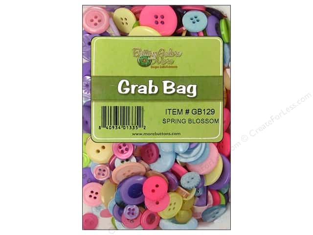 Buttons Galore Grab Bag 6 oz. Spring Blossom