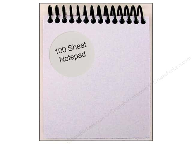 Note Pad by Paper Accents 4 1/4 x 3 2/3 in. White