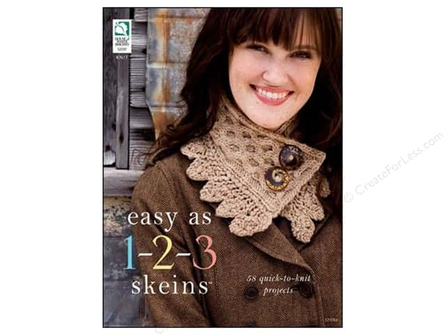 House of White Birches Easy As 1-2-3 Skeins Book