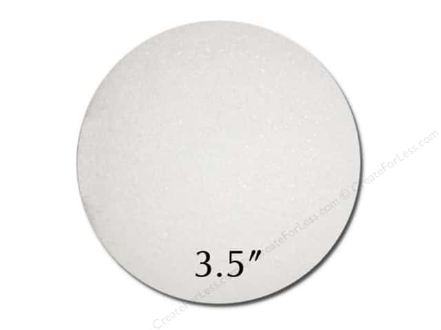 FloraCraft Styrofoam Ball - 3 1/2 in. White