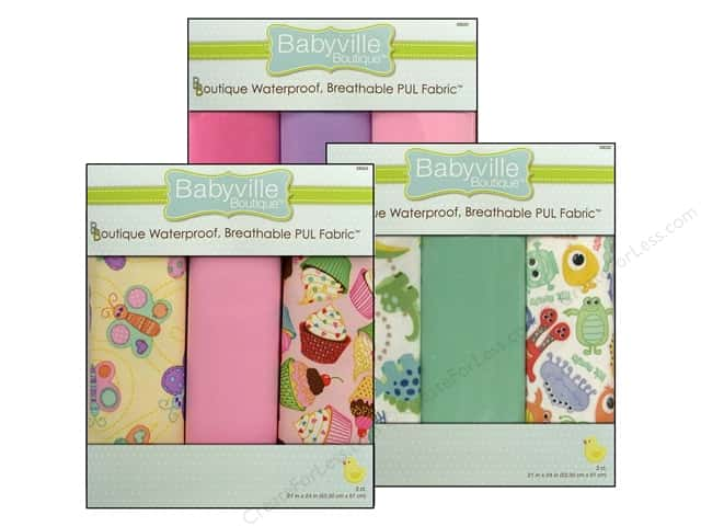 Dritz Babyville Boutique PUL Fabric