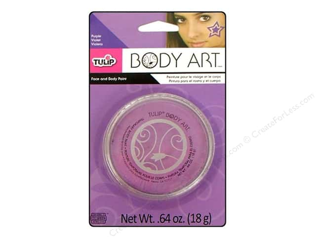Tulip Body Art Face & Body Paint Purple 0.64oz