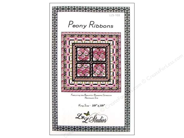 QuiltWoman.com Peony Ribbons Pattern