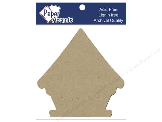 Paper Accents Chipboard Shape Birdhouse 8 pc. Natural