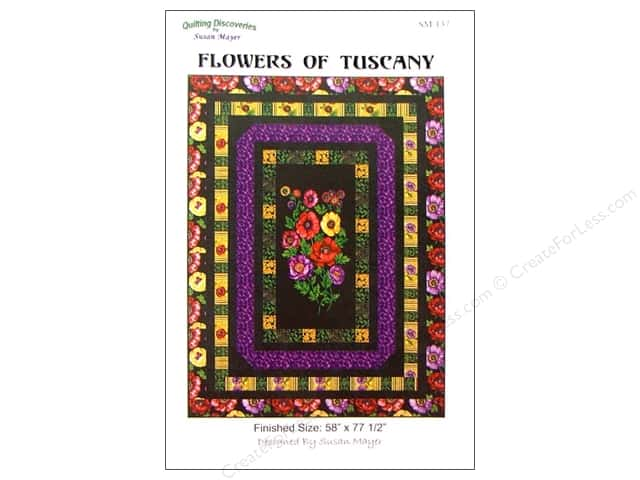 QuiltWoman.com Flowers Of Tuscany Pattern