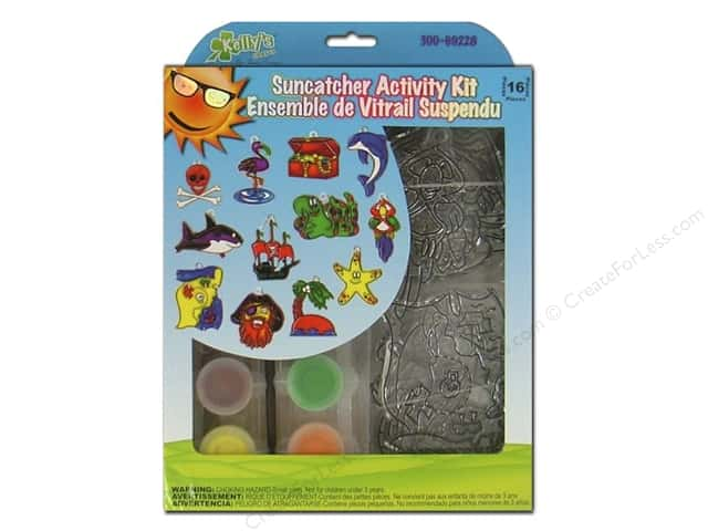 Kelly's Suncatcher Group Pack Pirate 12pc