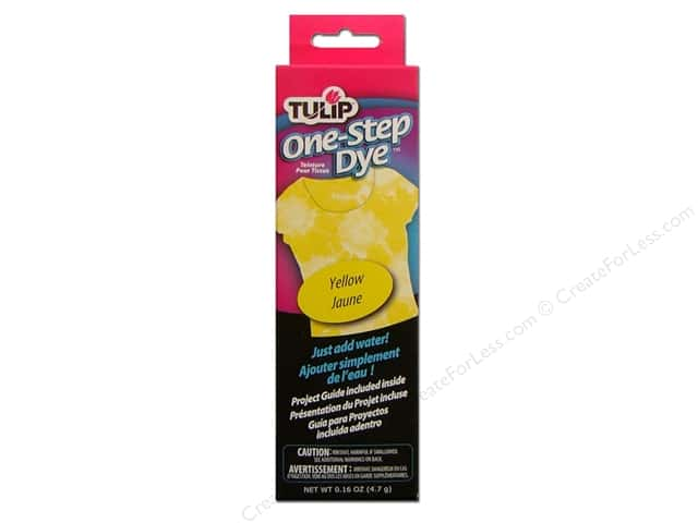 Tulip One Step Dye Yellow 0.16 oz.