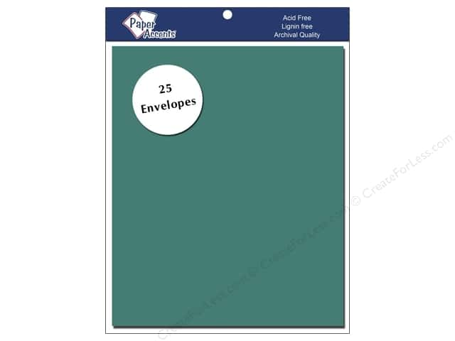 4 1/4 x 5 1/2 in. Envelopes by Paper Accents 25 pc. #145 Sea Blue