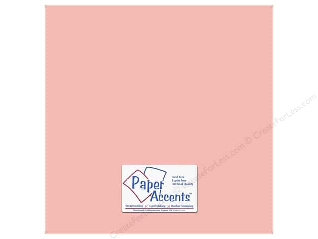 Paper Accents Cardstock 12 x 12 in. #18005 Smooth Berry Blush (25 sheets)