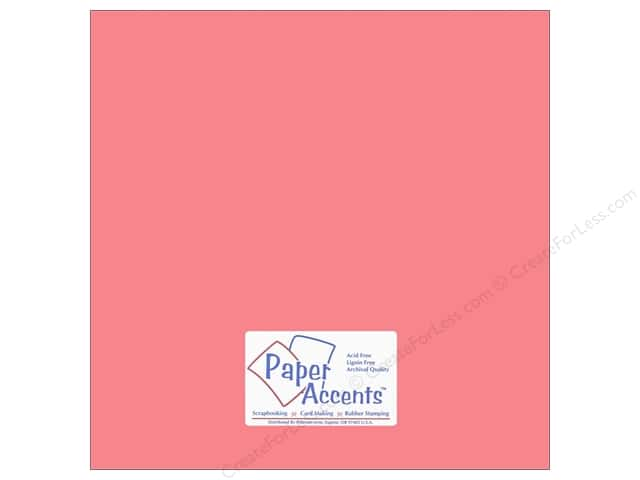 Cardstock 12 x 12 in. #18006 Smooth Roses Are Red by Paper Accents (25 sheets)