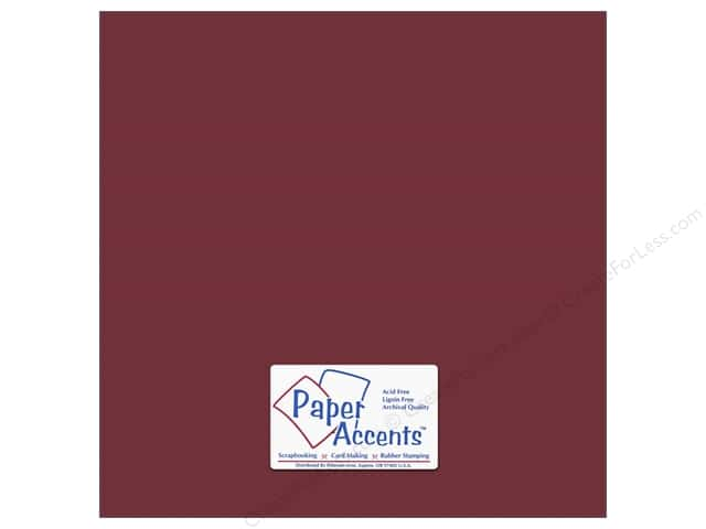 Paper Accents Cardstock 12 x 12 in. #18060 Smooth Brocade (25 sheets)