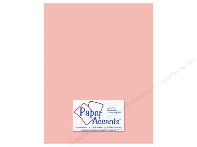 Cardstock 8 1/2 x 11 in. #18005 Smooth Berry Blush by Paper Accents (25 sheets)