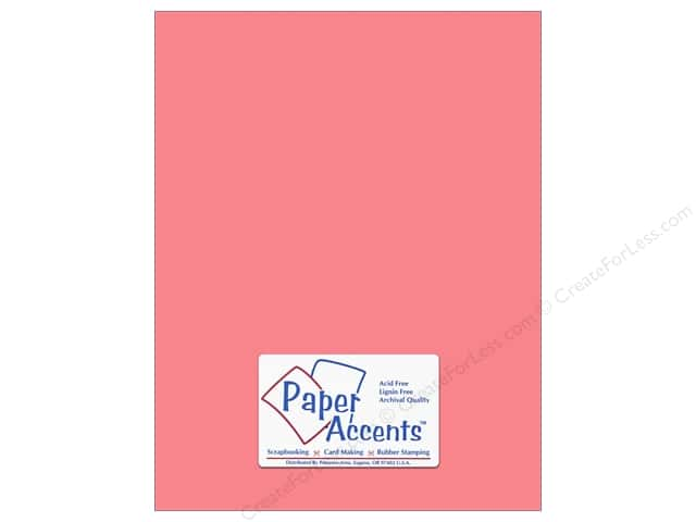 Cardstock 8 1/2 x 11 in. #18006 Smooth Roses Are Red by Paper Accents (25 sheets)