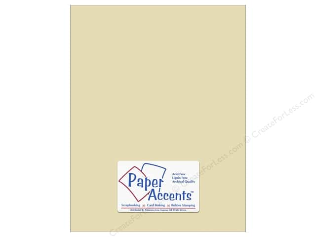 Paper Accents Cardstock 8 1/2 x 11 in. #18069 Smooth French Vanilla (25 sheets)