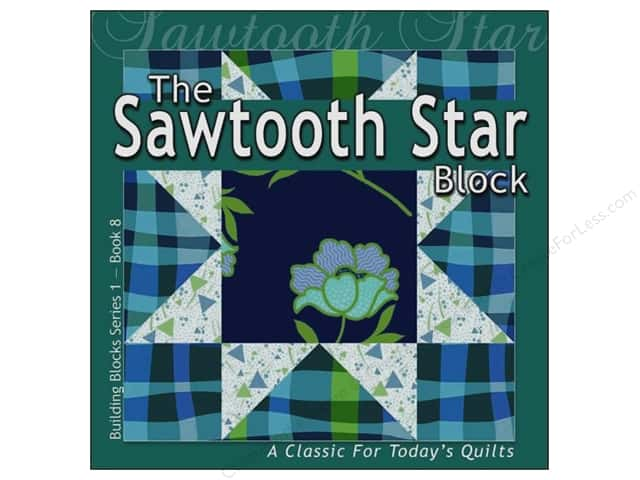 All American Crafts Series 1-#8 Sawtooth Star  Book