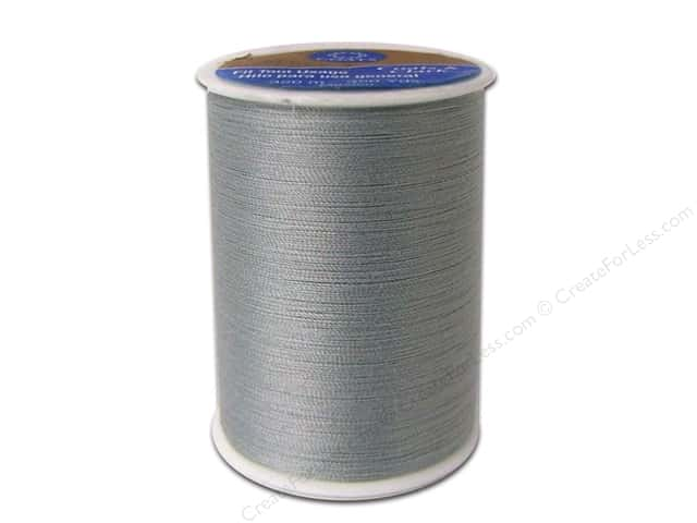 Coats & Clark All Purpose Polyester Thread 350 yd. Grey (12 spools)