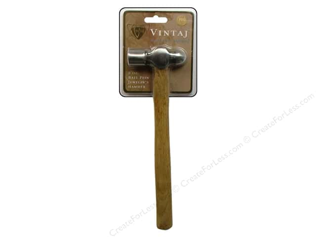 Vintaj 8 oz. Ball Pein Hammer 11 in.