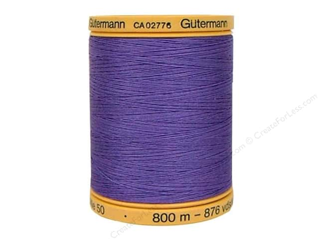 Gutermann 100% Natural Cotton Sewing Thread 875 yd. #4434 Grape