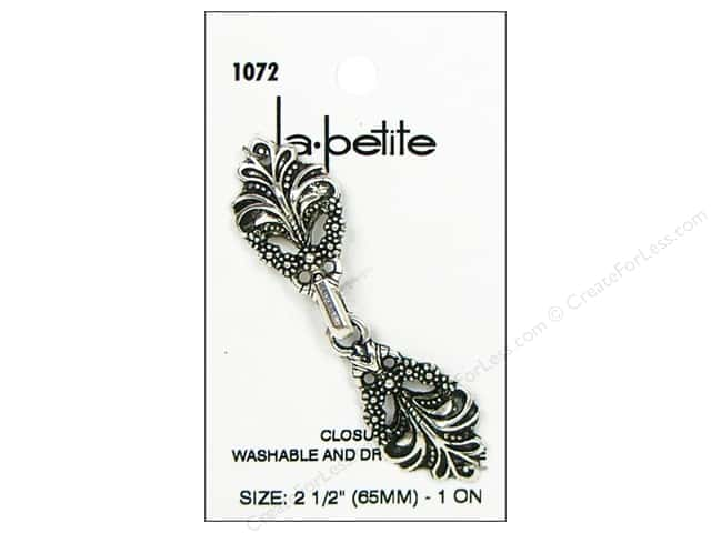 LaPetite Closure 2 1/2 in. Antique Silver #1072 1pc.
