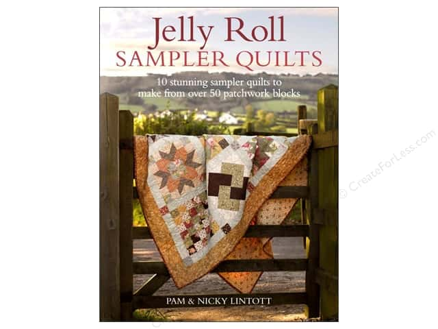 David & Charles Jelly Roll Sampler Quilts Book