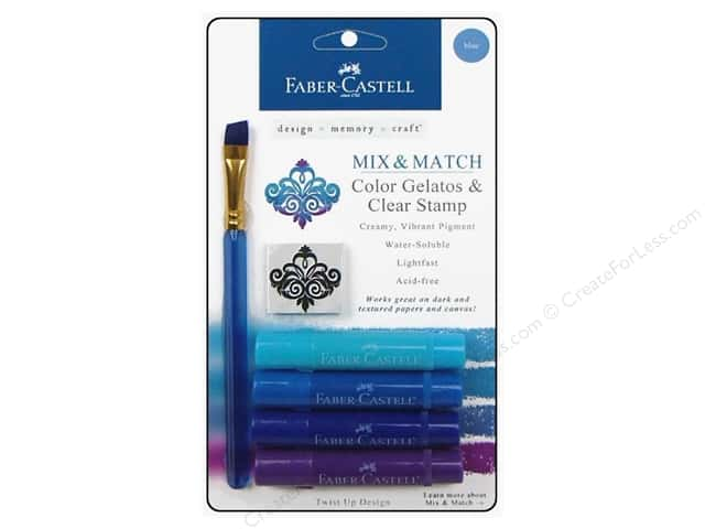 FaberCastell Gelatos Color Set 4 pc. Blue