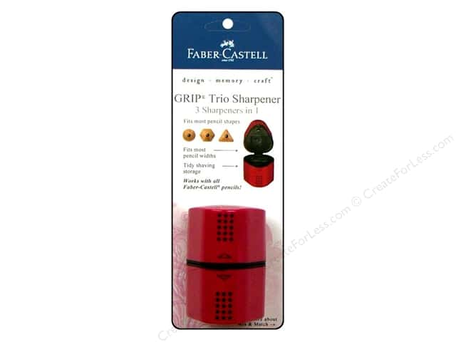 FaberCastell GRIP Triangular Sharpener