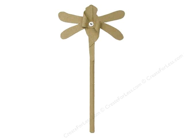 PA Paper Mache Small Dragonfly Pin Wheel 14 in.