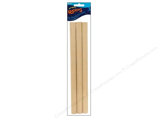 Darice Wood Dowels 12 x 3/4 in. 3 pc.