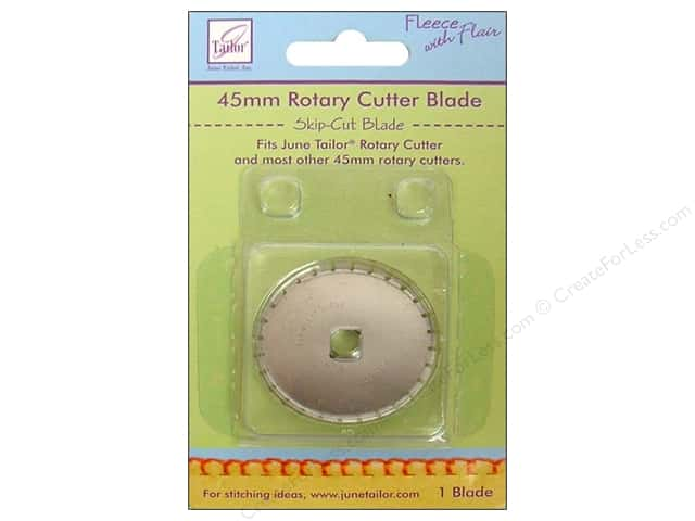 June Tailor Rotary Cutter Blade 45 mm Skip-Cut