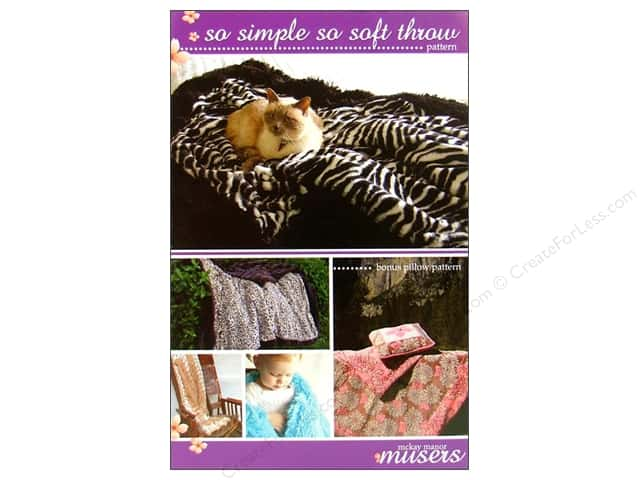 Mckay Manor Musers So Simple So Soft Throw Pattern
