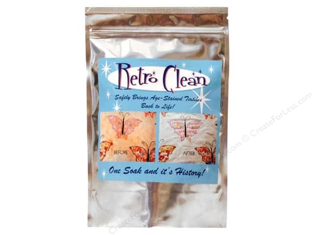 Retro Clean Fabric Cleaner Mylar Bag 1lb