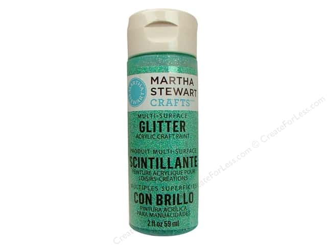 Martha Stewart Craft Paint by Plaid Glitter Feldspar 2 oz.