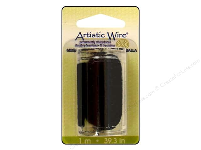 Artistic Wire Mesh 3/4 in. Black 39 in.