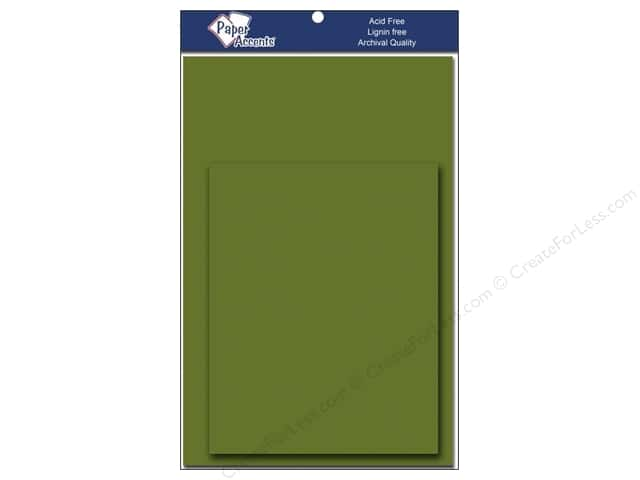 4 1/4 x 5 1/2 in. Blank Card & Envelopes by Paper Accents 10 pc. Green Parrot