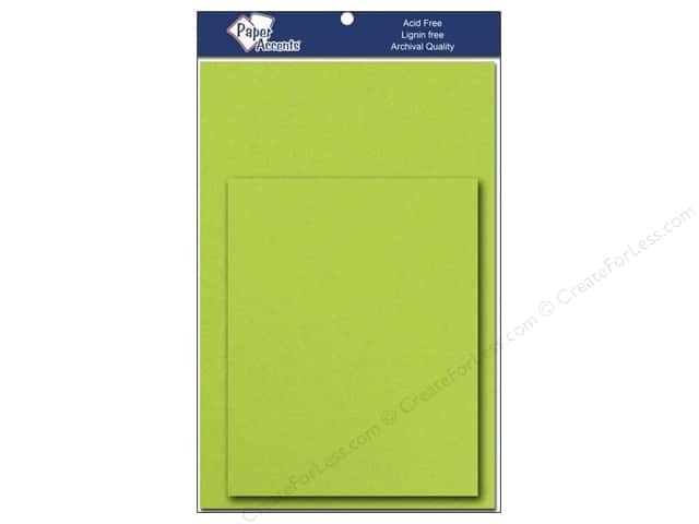 4 1/4 x 5 1/2 in. Blank Card & Envelopes by Paper Accents 10 pc. Sour Apple