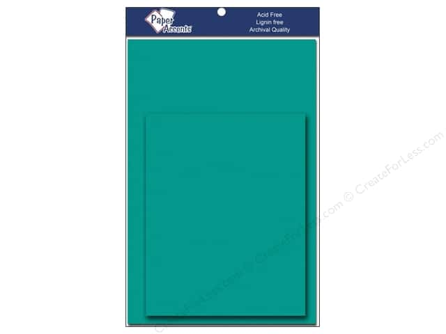 4 1/4 x 5 1/2 in. Blank Card & Envelopes by Paper Accents 10 pc. Sea Blue
