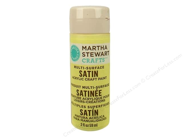 Martha Stewart Craft Paint by Plaid Satin Couscous 2 oz.