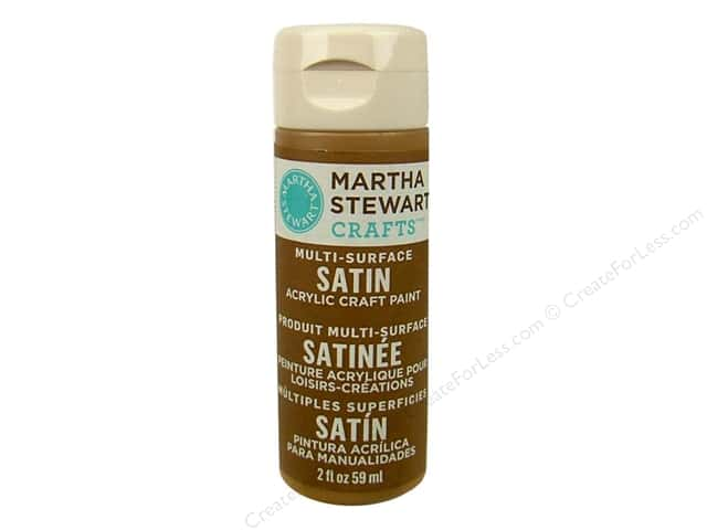 Martha Stewart Craft Paint by Plaid Satin Sycamore Bark 2 oz.