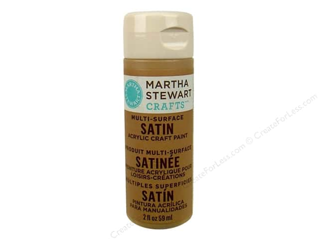 Martha Stewart Craft Paint by Plaid Satin Acorn 2 oz.