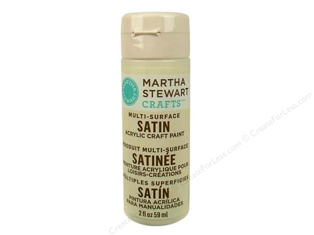 Martha Stewart Craft Paint by Plaid Satin Summer Linen 2 oz.