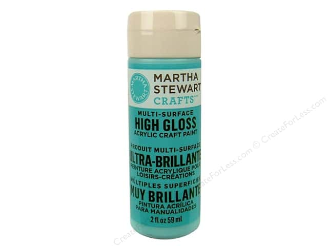 Martha Stewart Craft Paint by Plaid Gloss Surf 2 oz.