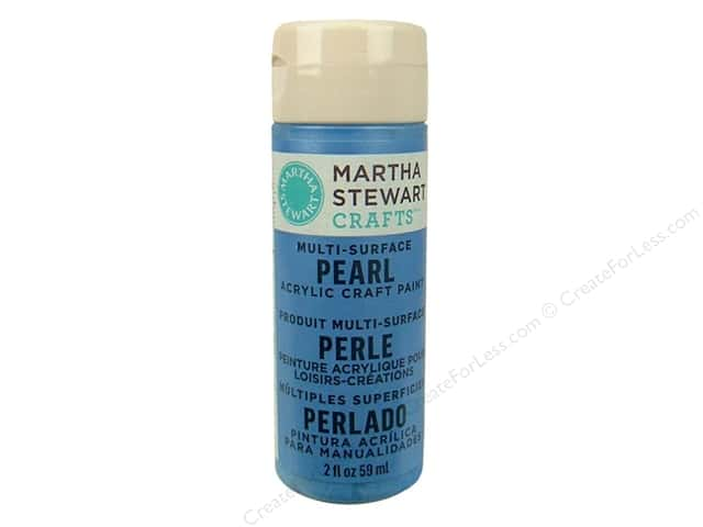 Martha Stewart Craft Paint by Plaid Pearl Gazing Ball 2 oz.