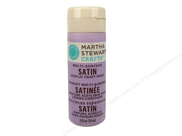 Martha Stewart Craft Paint by Plaid Satin Hailstorm 2 oz.