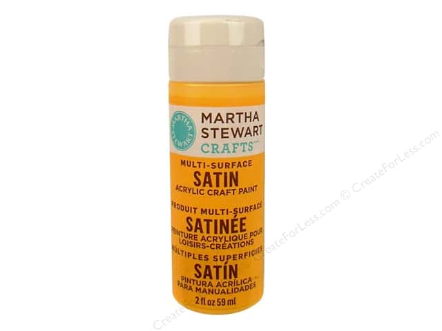 Martha Stewart Craft Paint by Plaid Satin Cantaloupe 2 oz.