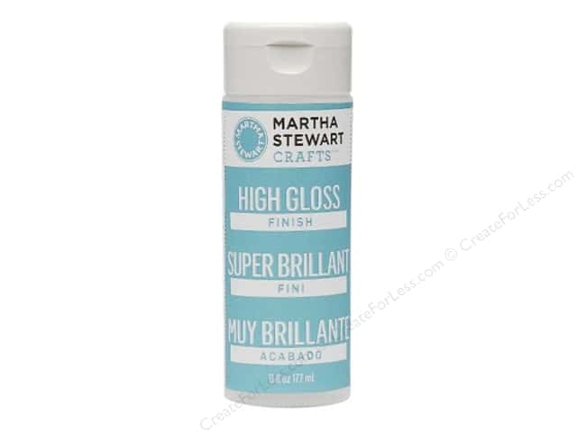 Martha Stewart Prep & Finish by Plaid High Gloss 6oz