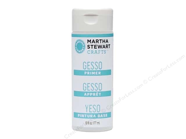 Martha Stewart Prep & Finish by Plaid Primer Gesso 6oz