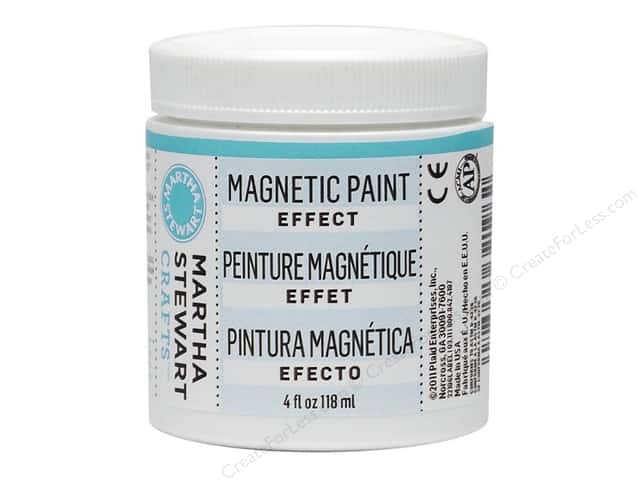 Martha Stewart Effect by Plaid Magnetic Paint 4oz
